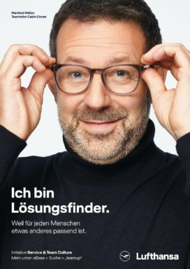 Claus M. Morgenstern Corporate People Published Lufthansa AG 1st-Flight