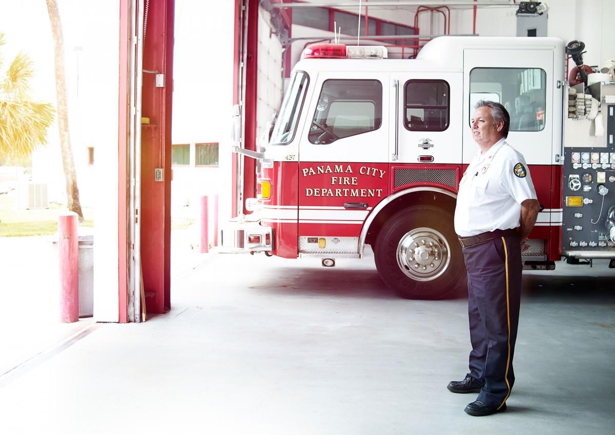 Fire Chief Alex Baird, Panama City Florida
